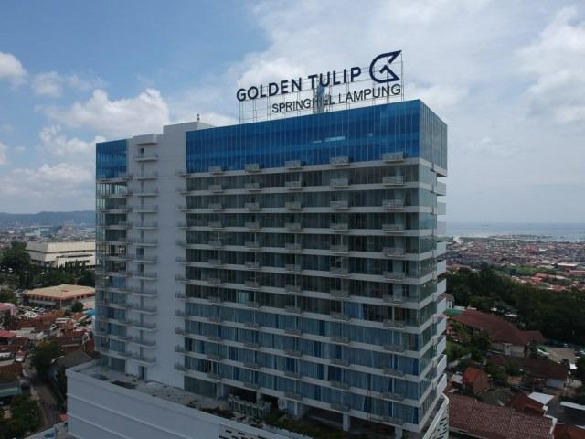 Merasakan Kenyamanan Hotel Bintang 4, Golden Tulip Springhill Bandar Lampung