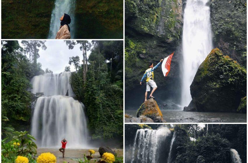 Daftar Wisata Air Terjun Andalan di Desa Datar Lebuay, Tanggamus