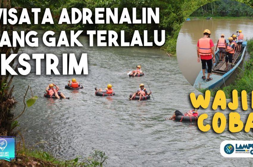 Video: Nyobain Ekowisata River Tubing Way Biha, Pesisir Barat – Lumayan Ekstrem tapi Seru!