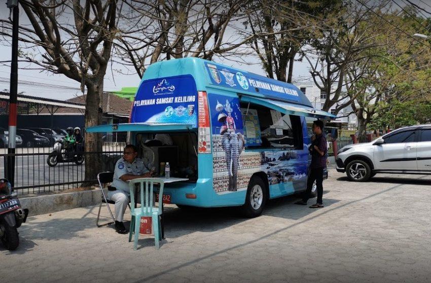 Daftar Lokasi dan Jadwal Jam Layanan Samsat Keliling di Bandar Lampung
