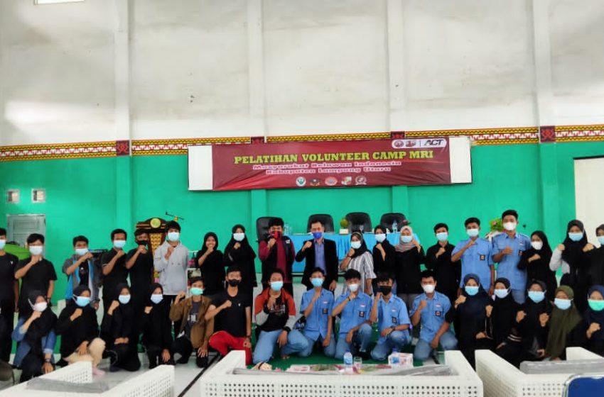 Latih Pemuda Tanggap Bencana, MRI Lampung Utara Gelar Volunteer Camp 2021