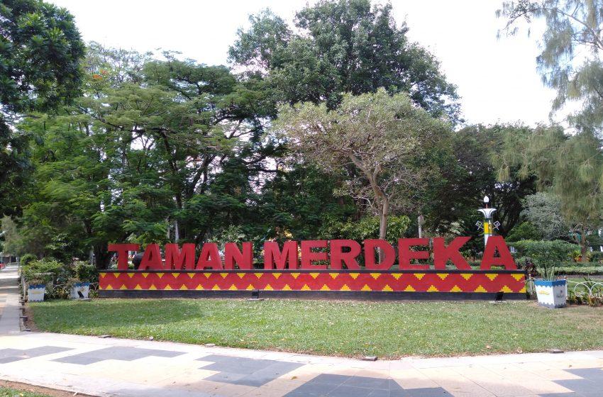 Taman Merdeka Kota Metro, Ruang Terbuka Hijau Dilengkapi Banyak Spot yang Ikonik