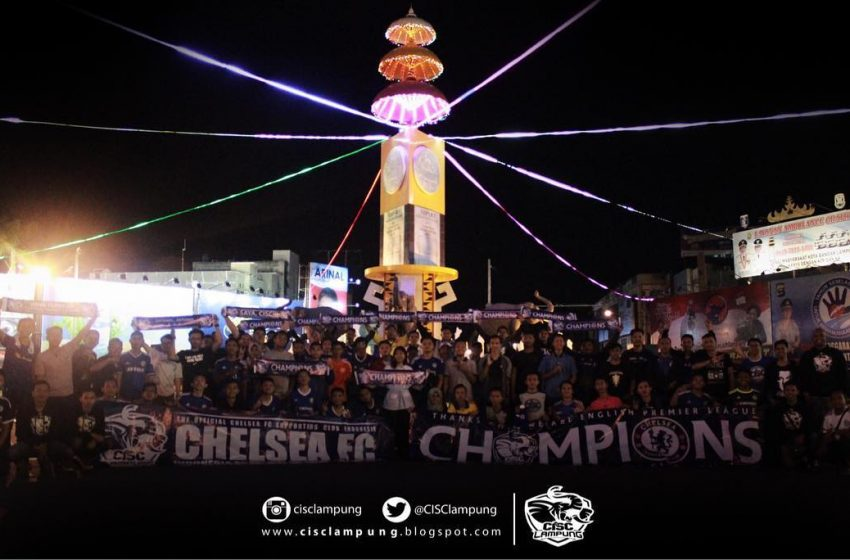 Mengenal Komunitas CISC Lampung, Basis Fans Club Sepak Bola Chelsea di Lampung