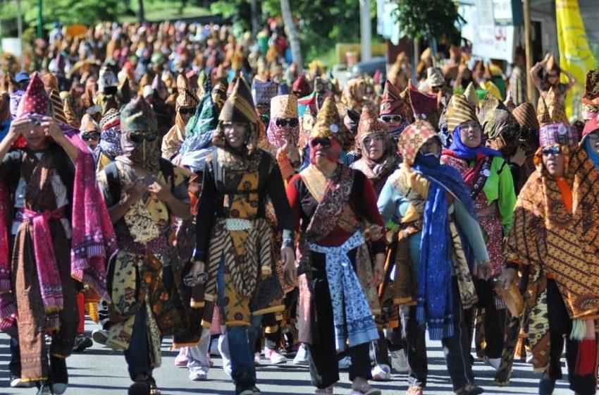 Mengenal Tradisi Sekura, Pesta Topeng Masyarakat Lampung yang Dilakukan di Hari Raya