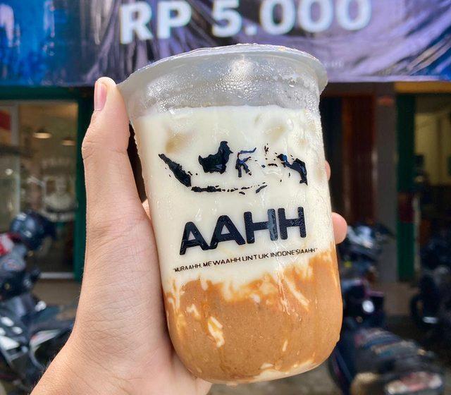 Aahh!: Minuman Favorit Warga Metro, Kini Ada di Bandar Lampung, Mulai Rp 5 Ribu