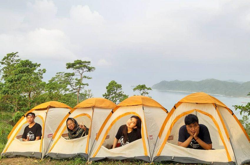Menikmati Keindahan View Pulau dan Gunung dari Bukit STL, Tanggamus