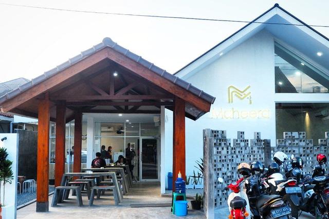 Maheera Coffee Bandar Lampung, Kafe Minimalis Berkonsep Arsitektur Skandinavia